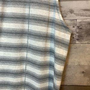 lululemon athletica Tops - Lululemon Gray Striped Workout Tank